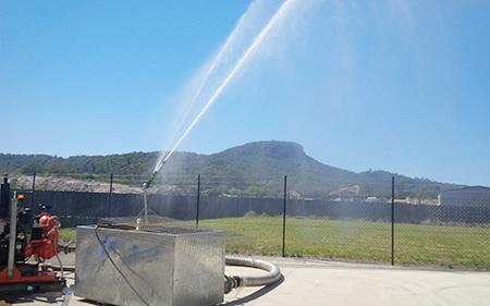 Industrial sprinkler